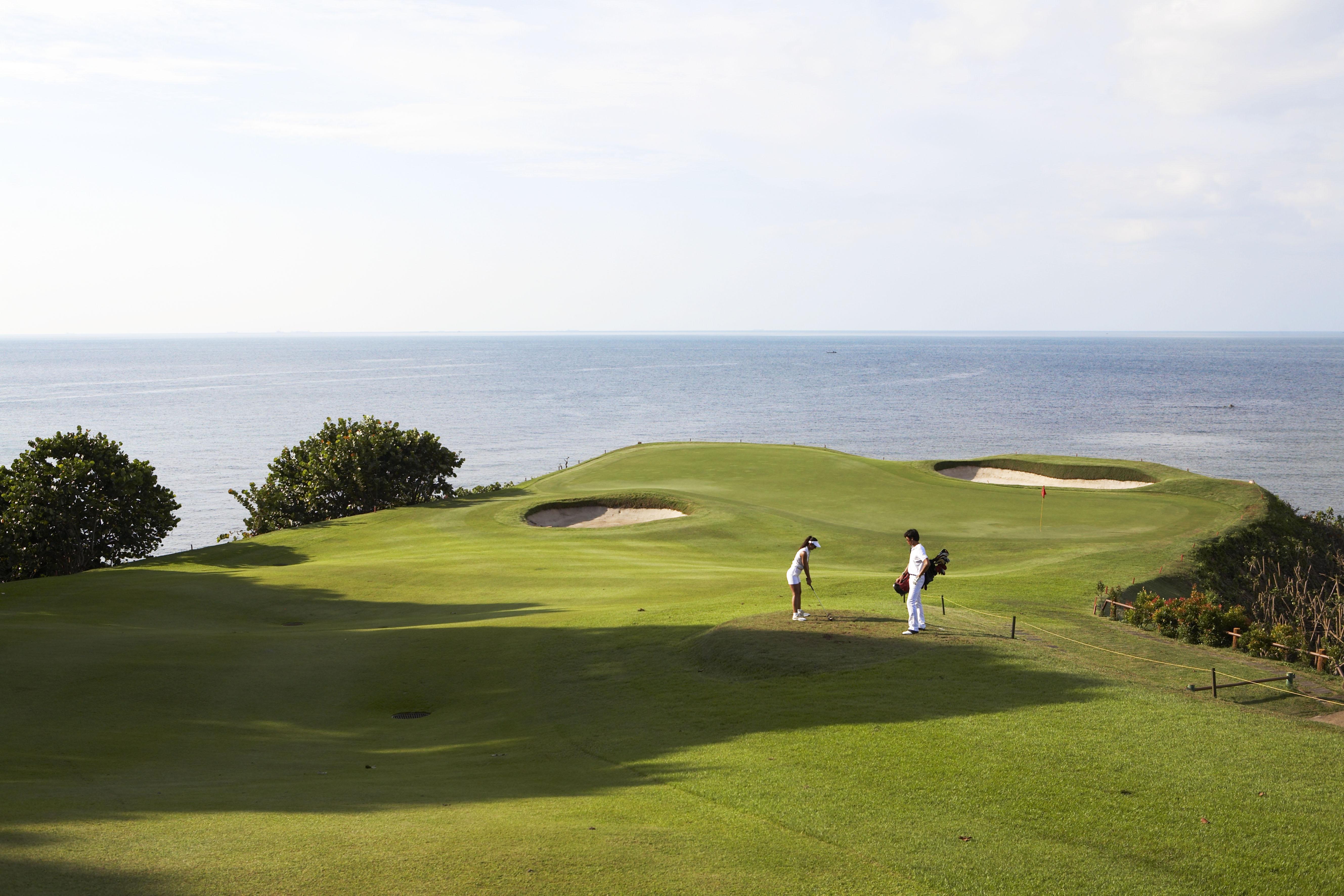 Golf al mare