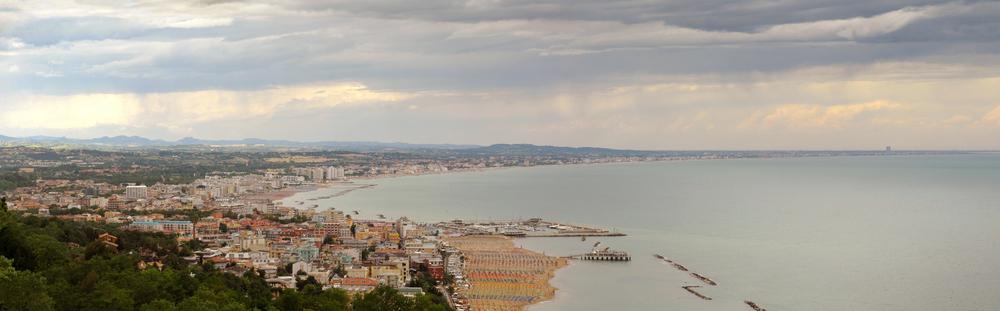 Hotel sul mare di Riccione