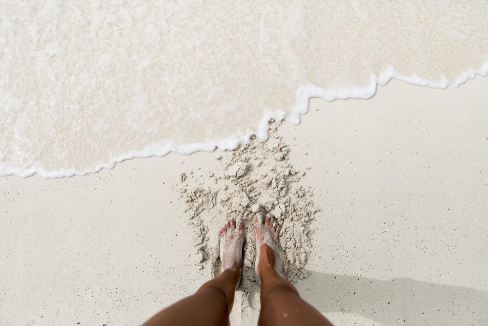 Spiaggia di sabbia bianca