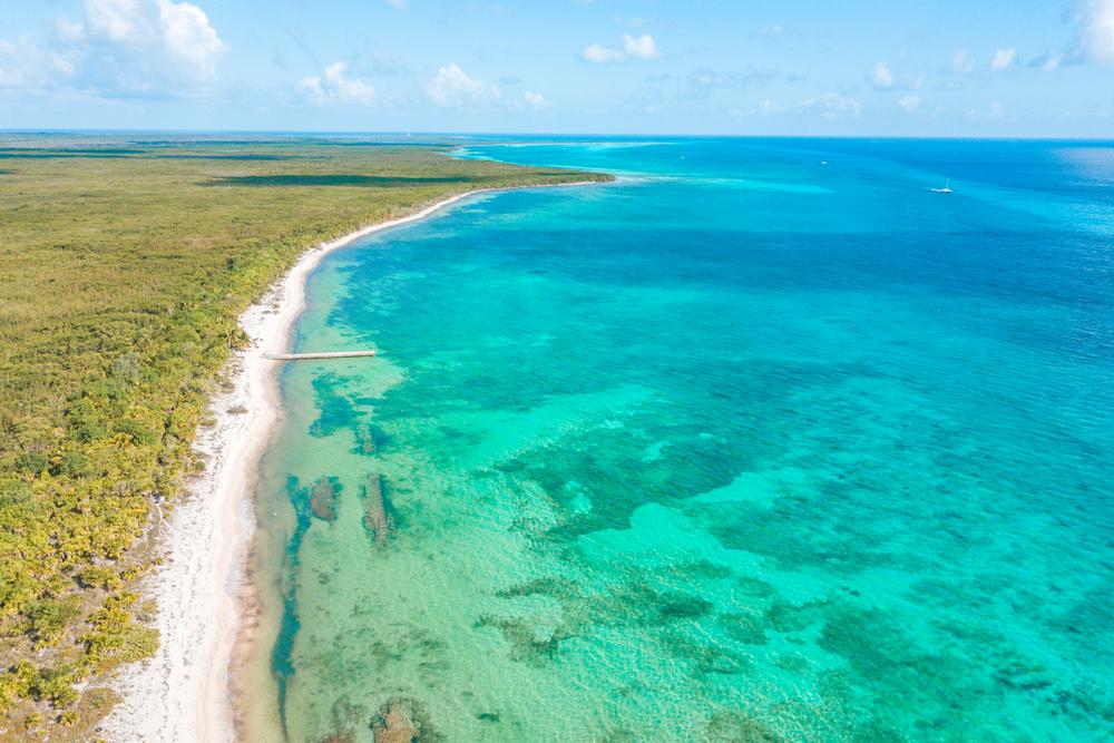 Cozumel, Isola caraibica