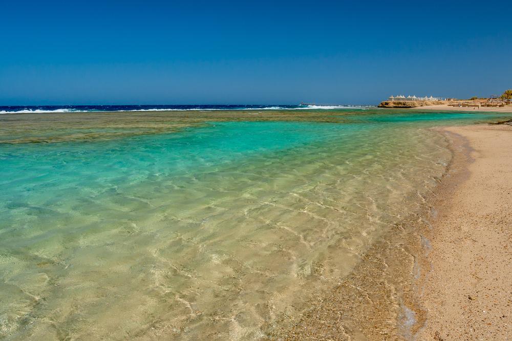 Una spiaggia di Marsa Alam