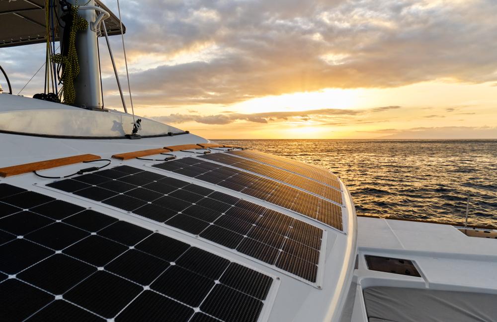 fotovoltaico in barca